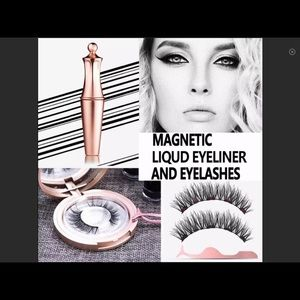 Magnetic Eye Lashes (Mink) New In Box, These Work!